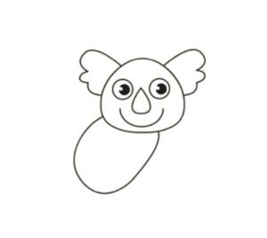 learn how to draw koala step by step