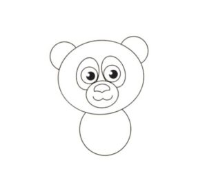 learn how to draw a panda step by step easy drawing