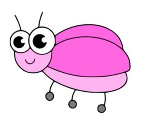 Learn How to draw a bug step by step