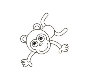 Learn how to draw monkey step by step