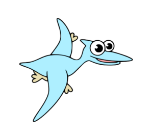 how to draw preodactyl step by step