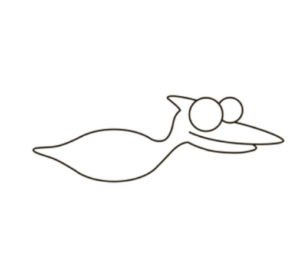 Learn How to draw pterodactyl step by step