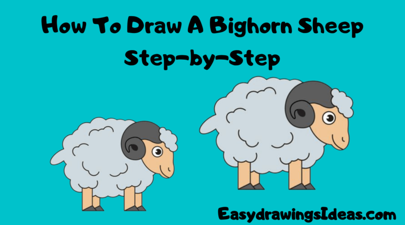 How_To_Draw_A_Bighorn_Sheep